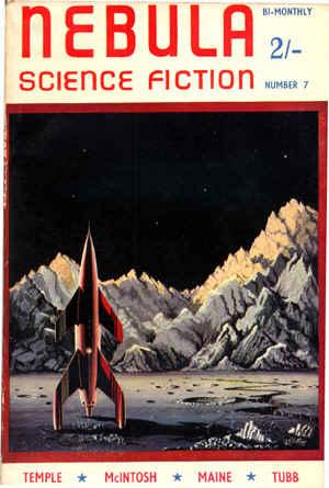 Nebula Magazine February 1954 cover